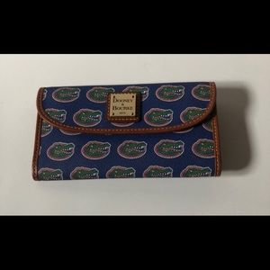 Dooney & Bourke NCAA UF Gators wallet
